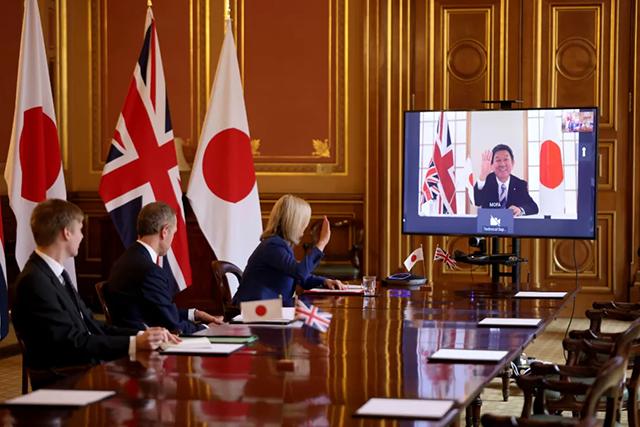 日英FTA、Asia-Pacific'新しい友達'